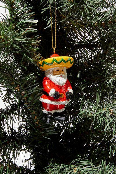 Christmas Ornament, SOMBRERO SANTA