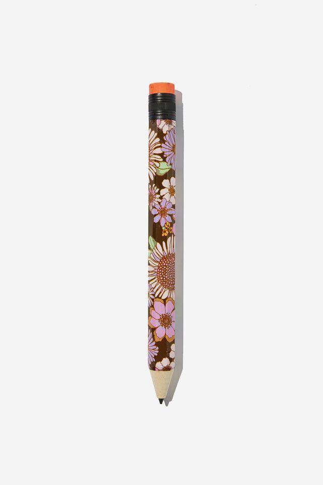 Fashion Giant Pencil, SUNNIE FLORAL