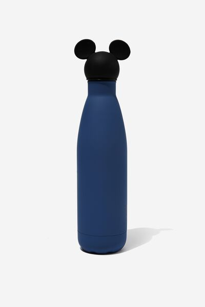 Premium Metal Drink Bottle 500Ml, LCN DIS MICKEY BLUE