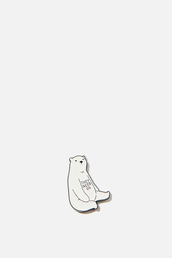 Enamel Stickers, POLAR BEAR