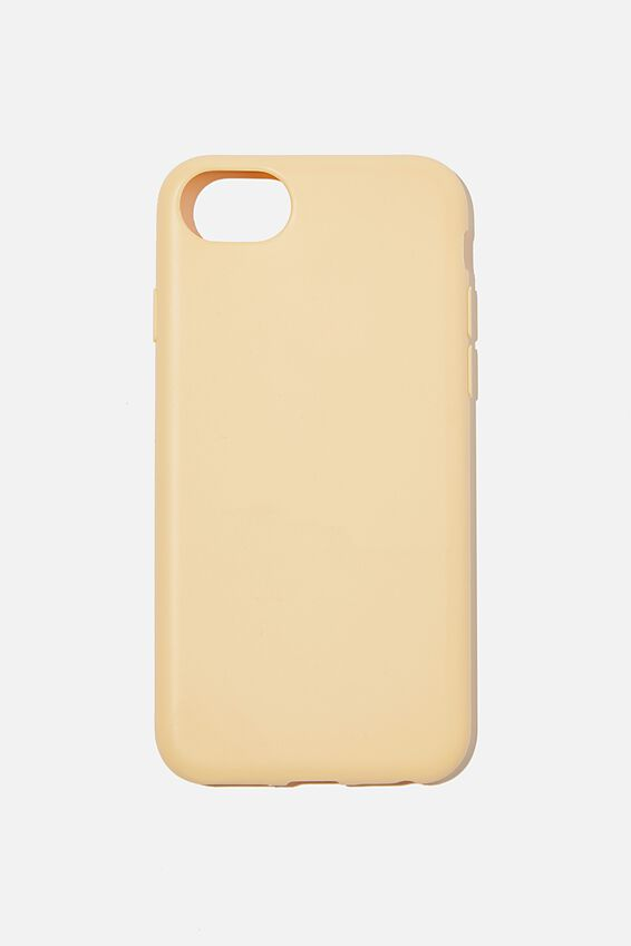 Recycled Phone Case iPhone 6, 7 ,8, SE, WASHED MUSTARD