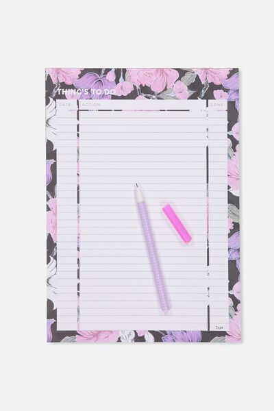 Large Plan Ahead Planner, LUSH FLORAL