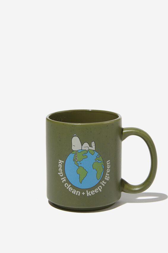 Snoopy Daily Mug, LCN PEA EARTH KEEP IT CLEAN