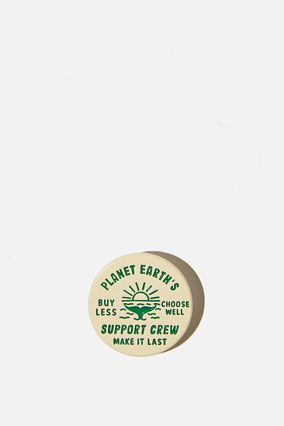 Enamel Badges, PLANET SUPPORT CREW