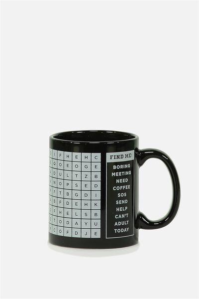 Anytime Mug, FIND ME