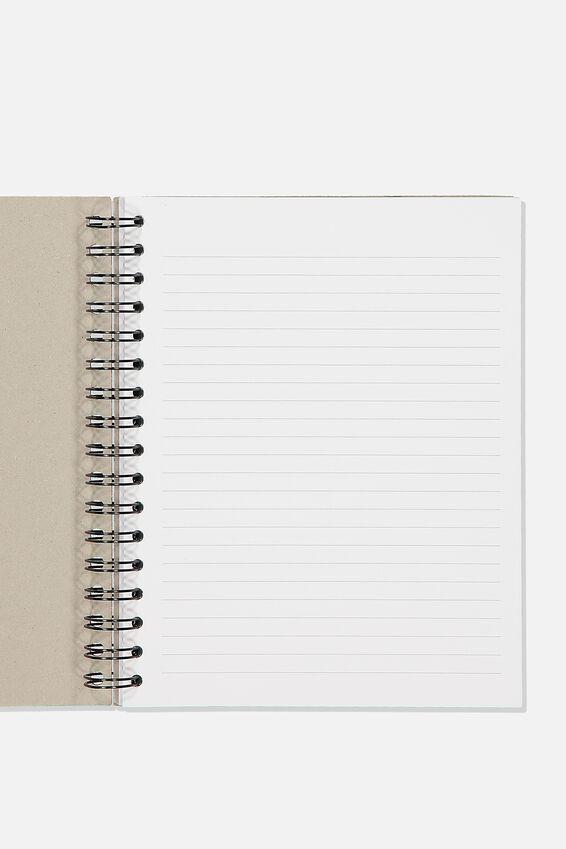 Ultimate Spiral Notebook, GREY CRAFT