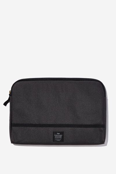 Take Me Away 11 Inch Laptop Case, WASHED BLACK