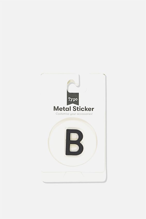 Metal Stickers, BLACK B
