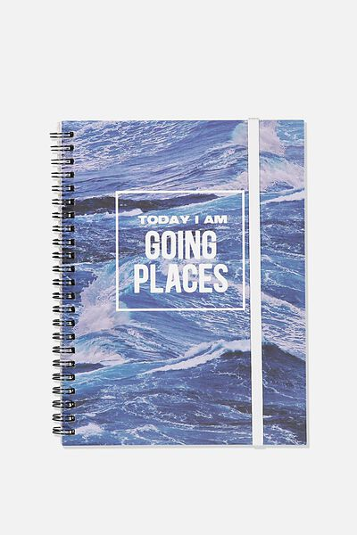 Small Spinout Notebook - V, GOING PLACES