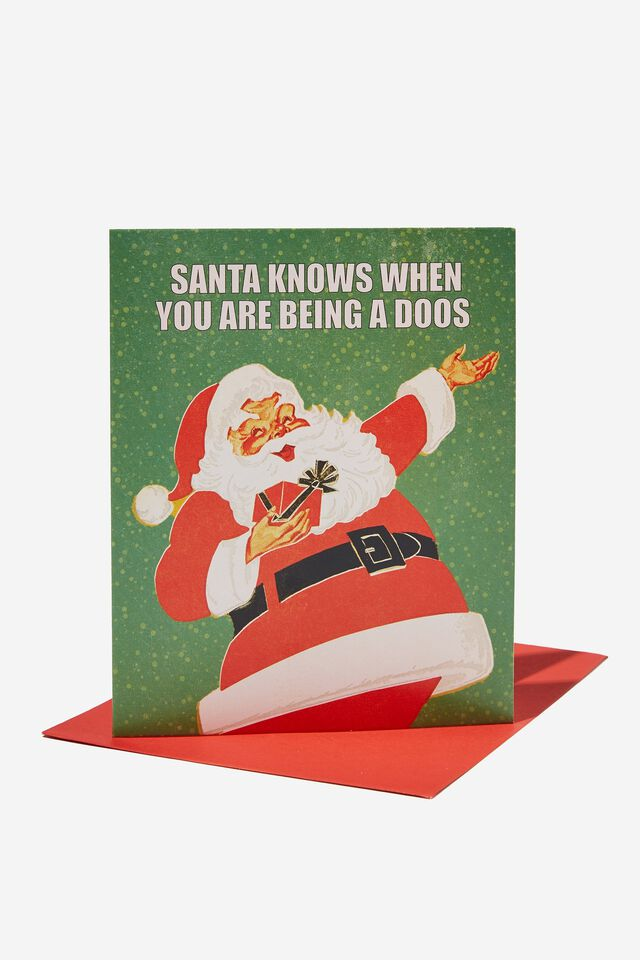 Christmas Card 2021, RG SAF SANTA DOOS