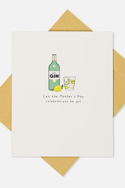 Mothers Day Cards 2018, GIN!