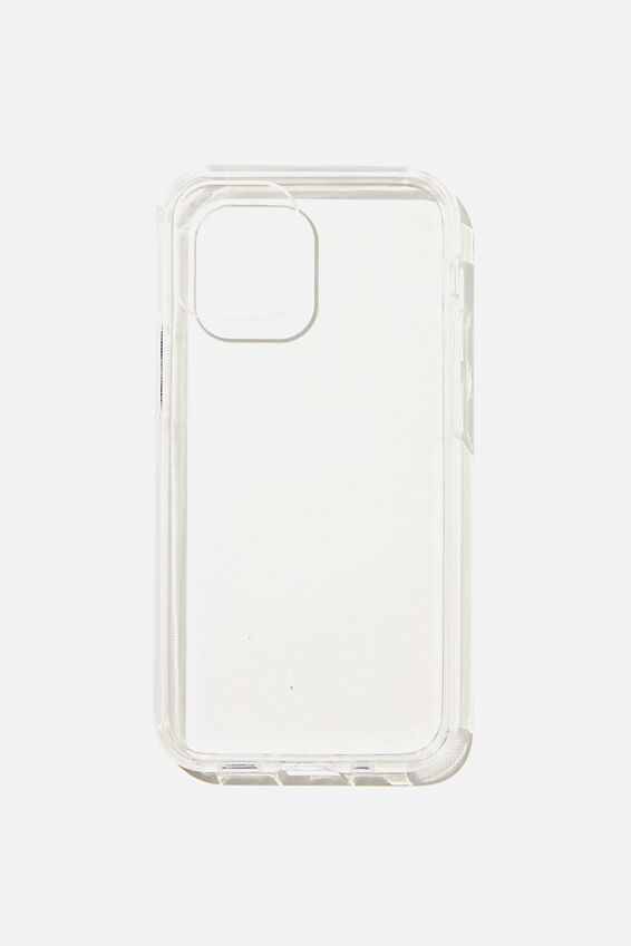 Protective Phone Case Iphone 12 Mini, CLEAR GLASS