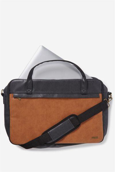 Premium Laptop Bag 15 Inch, RICH TAN