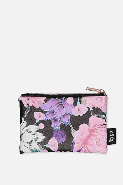 Campus Coin Purse, LUSH FLORAL
