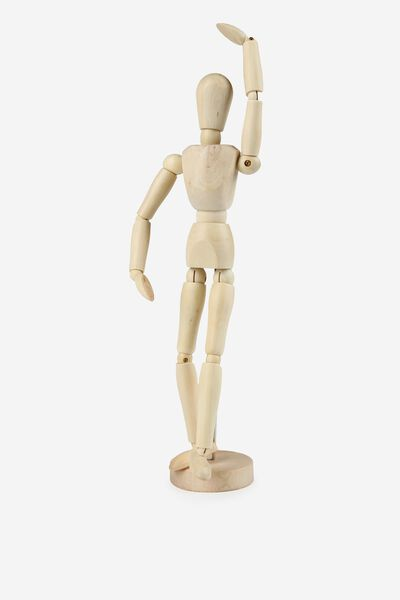 Manikin Large, WOOD