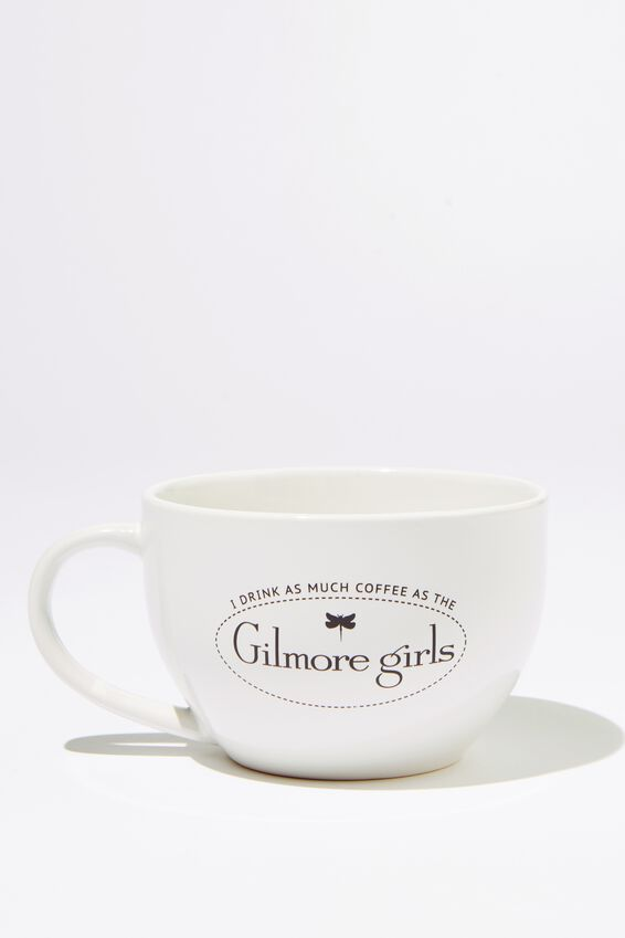 Gilmore Girls Big Mouth Mug, LCN WB GILMORE GIRLS