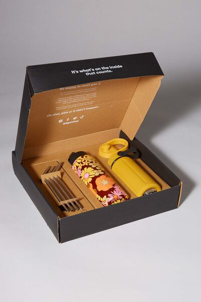 Sustain Me Gift Box, MUSTARD AND STEVIE FLORAL
