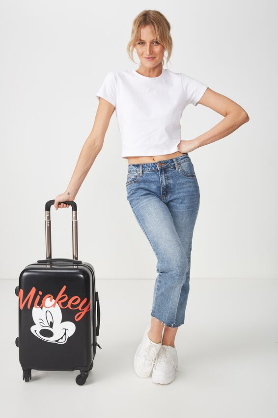 Disney Small Suitcase, LCN WINKING MICKEY