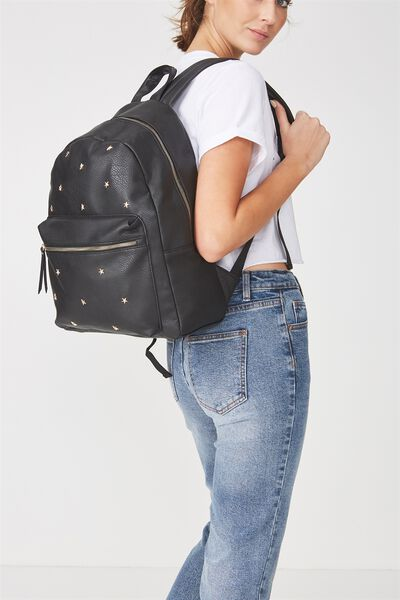 Campus Backpack, STAR STUDDED