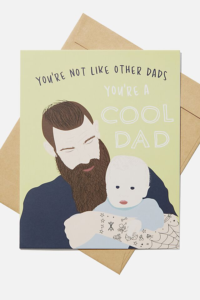 Fathers Day Card, YOURE A COOL DAD