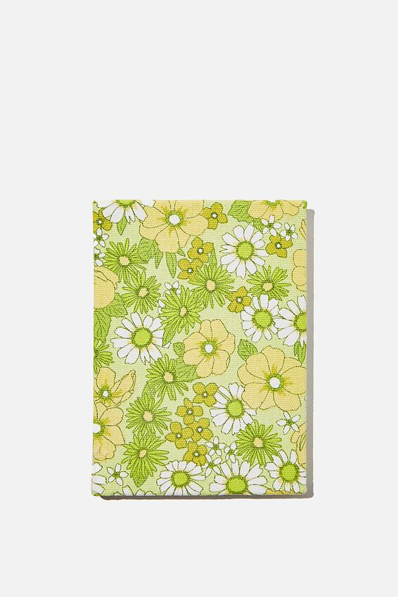 A6 Oxford Notebook, JONI FLORAL CITRINE