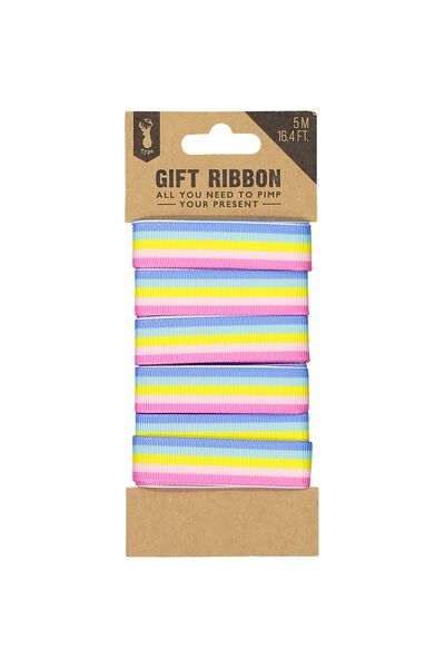 Printed Ribbon, RAINBOW