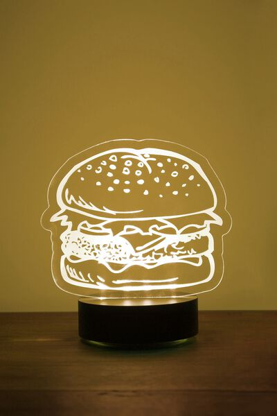 Acrylic Light, BURGER
