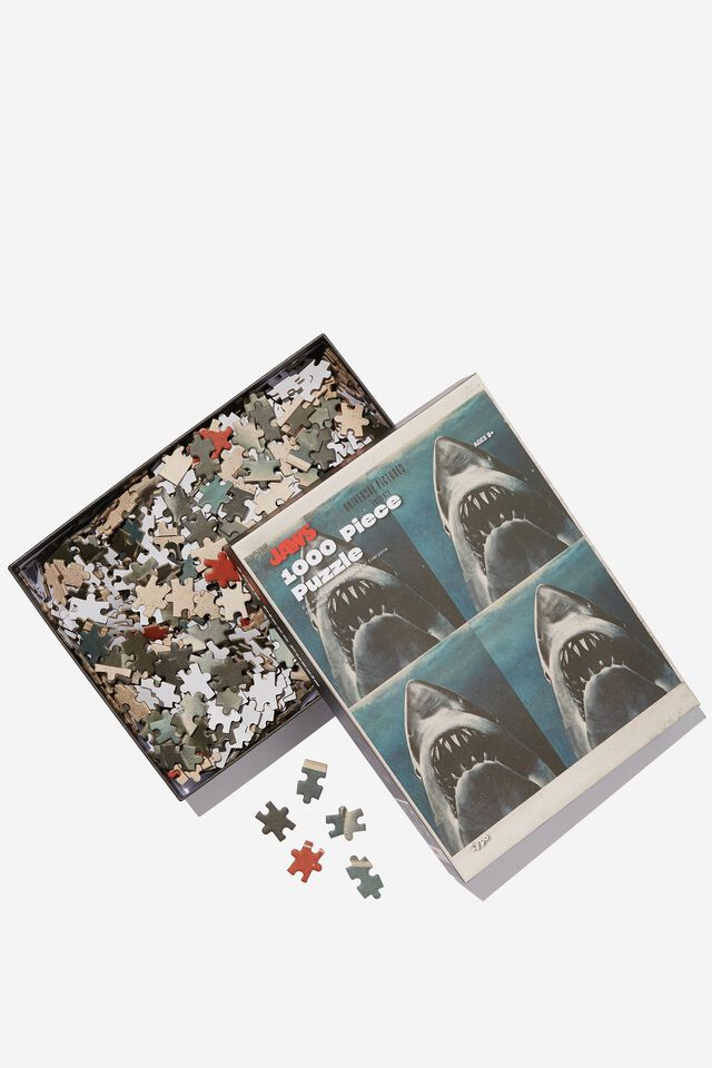 Jaws 1000 Piece Puzzle, LCN UNI JAWS