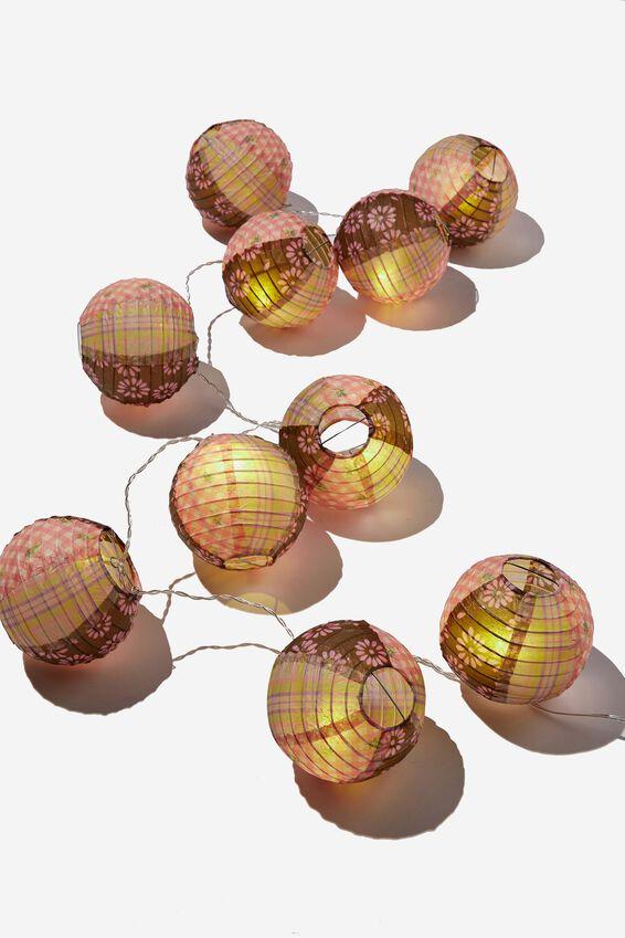 Usb Vibe String Lights, COTTAGE CORE PATCHWORK