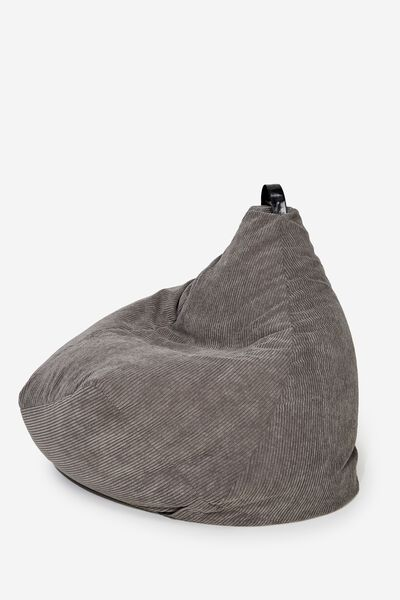 Bean Bag Cover, GREY CORD