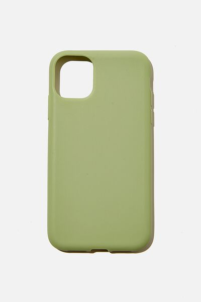 Recycled Phone Case iPhone 11, ALLY GREEN