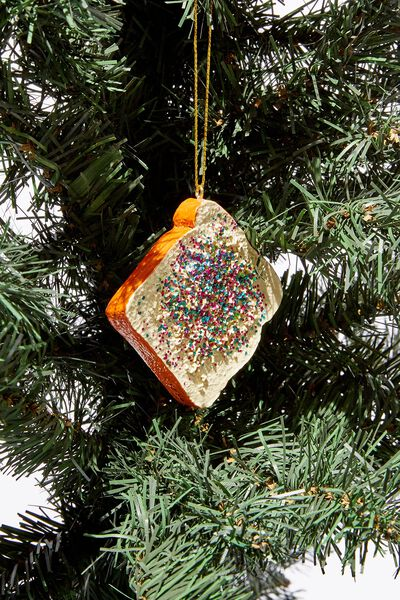 Christmas Ornament, FAIRY BREAD