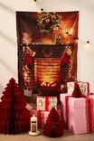 Wall Hangings, CHRISTMAS FIRE PLACE