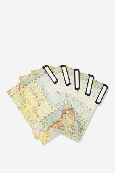 Manila Folders 5Pk, MAP