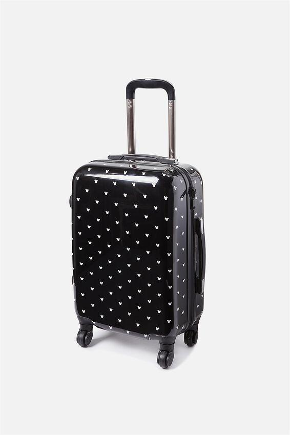 Mickey Suitcase, LCN MICKEY DITSY PRINT