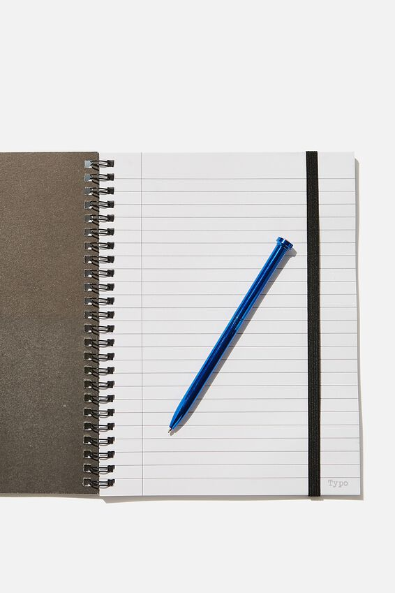A5 Spinout Notebook Recycled, LCN MARVEL