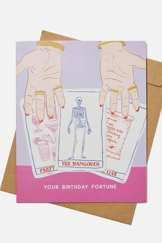 Funny Birthday Card, YOUR BIRTHDAY FORTUNE CARDS!