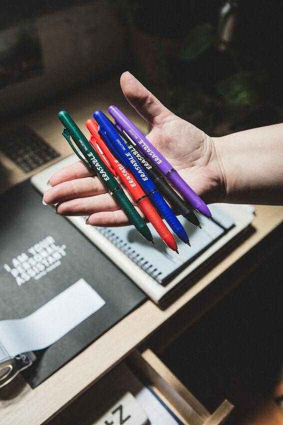 Erasable Gel Pen, BLUE