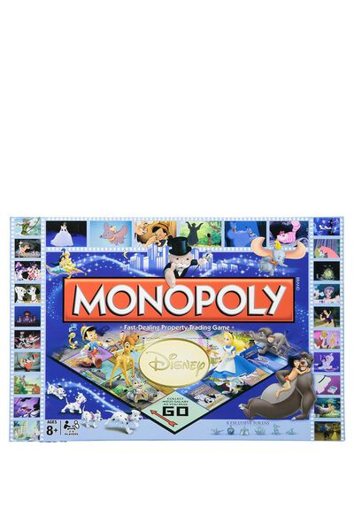 Disney Monopoly, LCN DISNEY