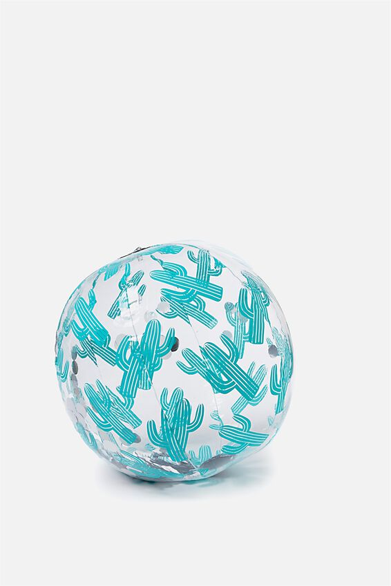 Glitter Beach Ball, CACTUS