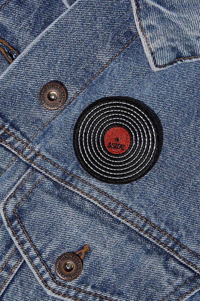 Fabric Badge, RECORD