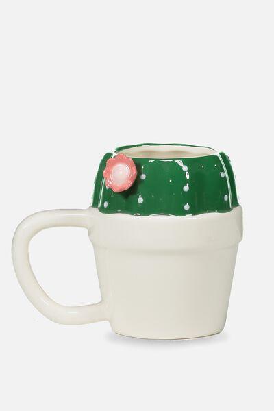 Novelty Shaped Mug, CACTI