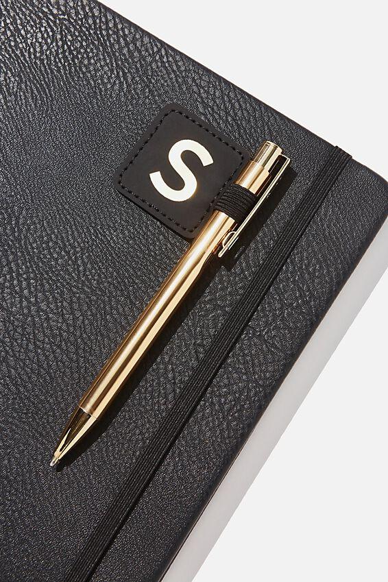 Pen Loop Sticker, BLACK S