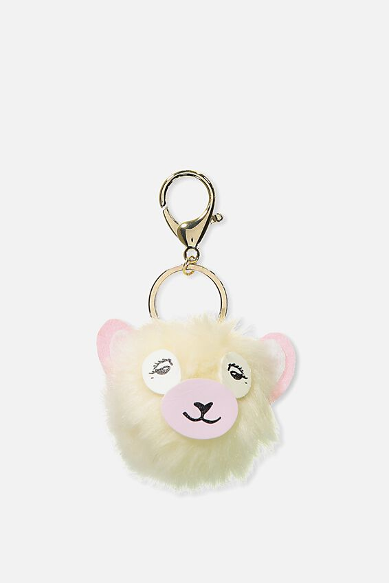 Bag Charm, ALPACA FACE