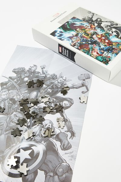 1000 Piece Double Sided Puzzle, LCN DIS MARVEL GROUP