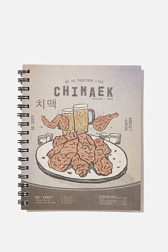 A5 Campus Notebook Recycled, RG ASIA CHIMAEK AND BEER!