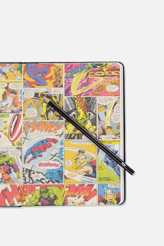 "A5 Marvel Buffalo Journal (8.27"" x 5.83""), LCN MAR AVENGERS"