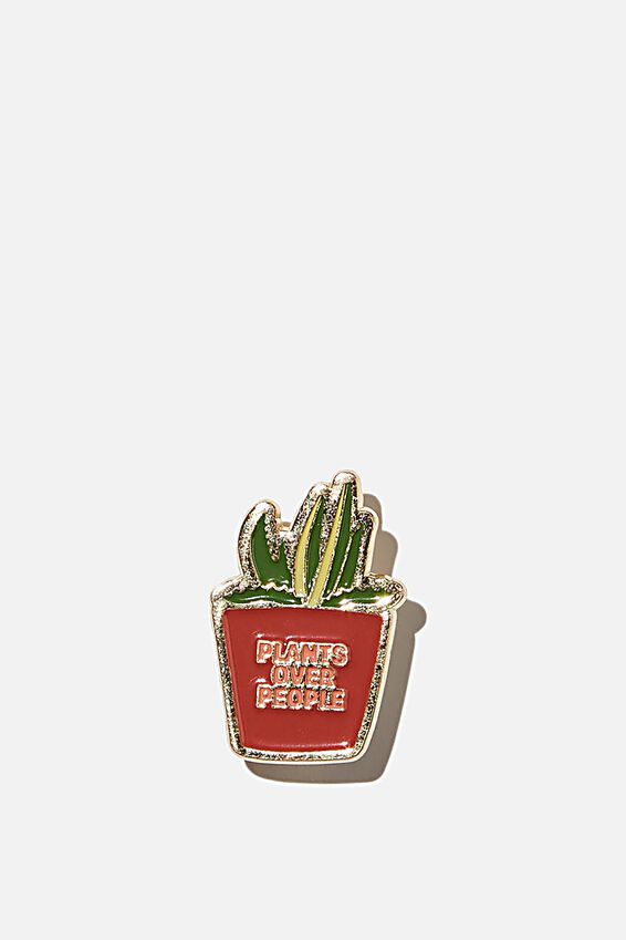 Enamel Badges, PLANTS OVER PEOPLE