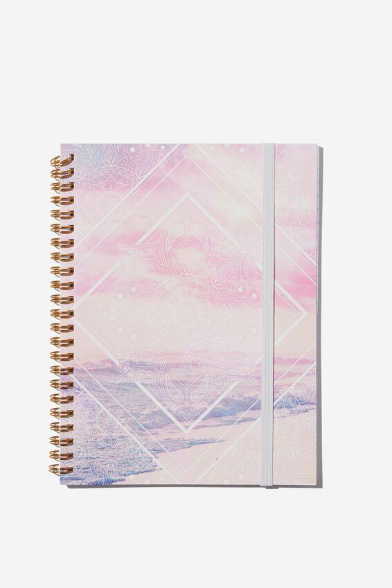Small Spinout Notebook - V, MANDALA OCEAN