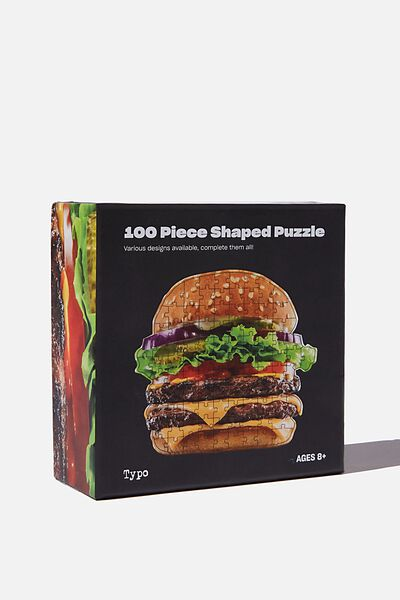 100 Piece Puzzle, BURGER